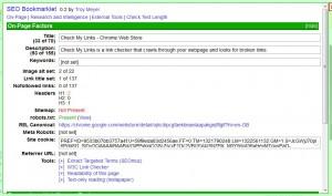 seo bookmarklet